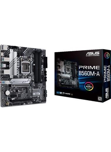 Asus Prıme B560M-A Intel B560 Soket 1200 Ddr4 5000Mhz(Oc) M.2 Anakart Renkli